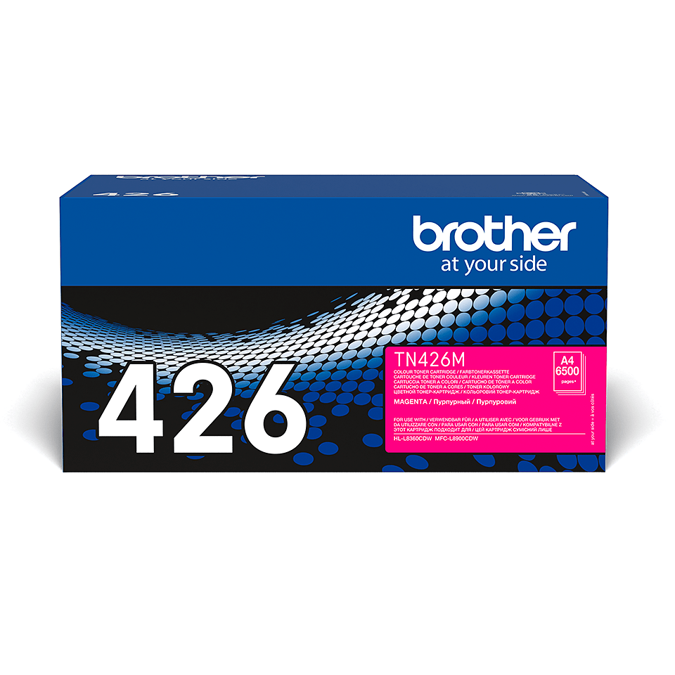 TN-426M toner magenta d'origine Brother à super haut rendement