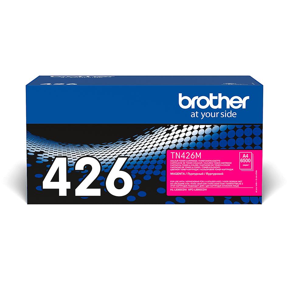 TN-426M toner magenta d'origine Brother à super haut rendement