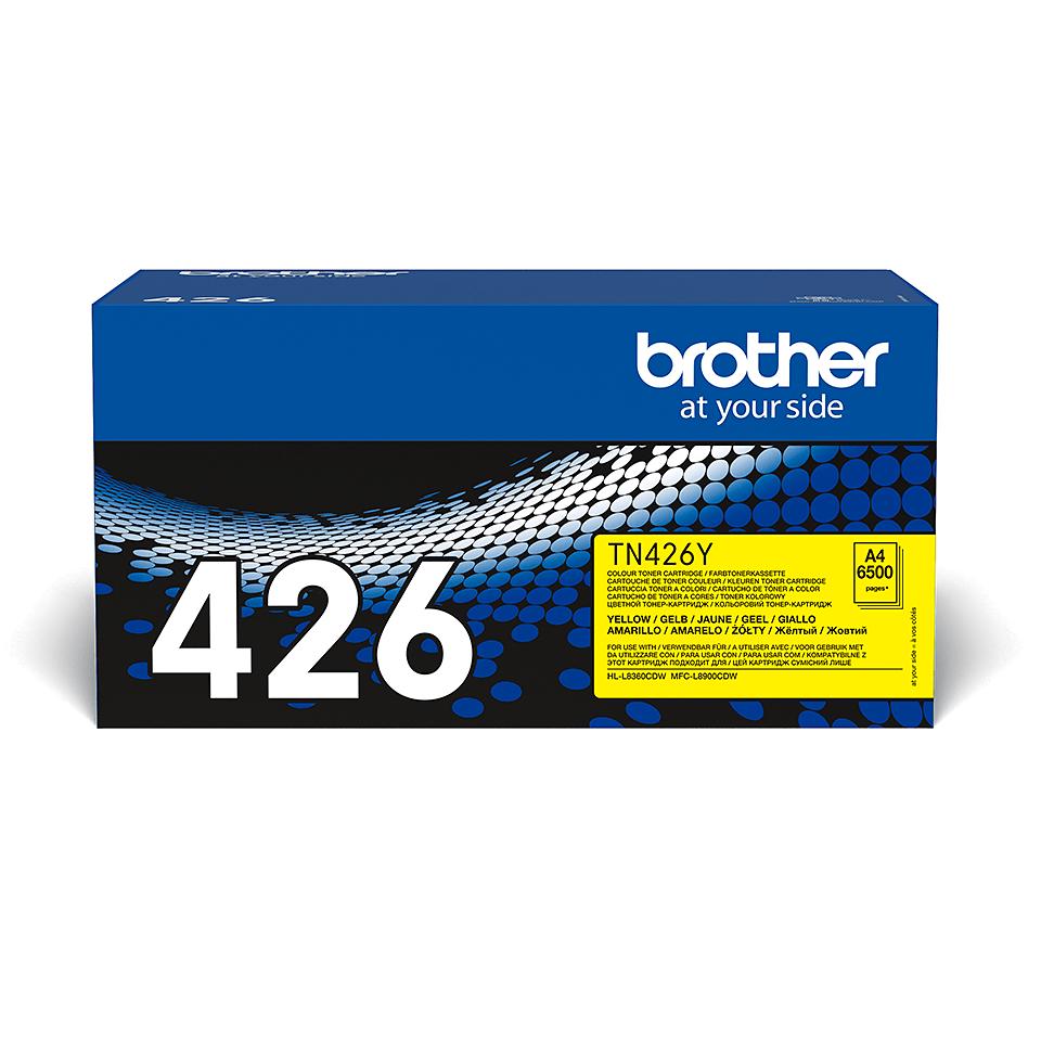 TN-426Y toner jaune d'origine Brother à super haut rendement
