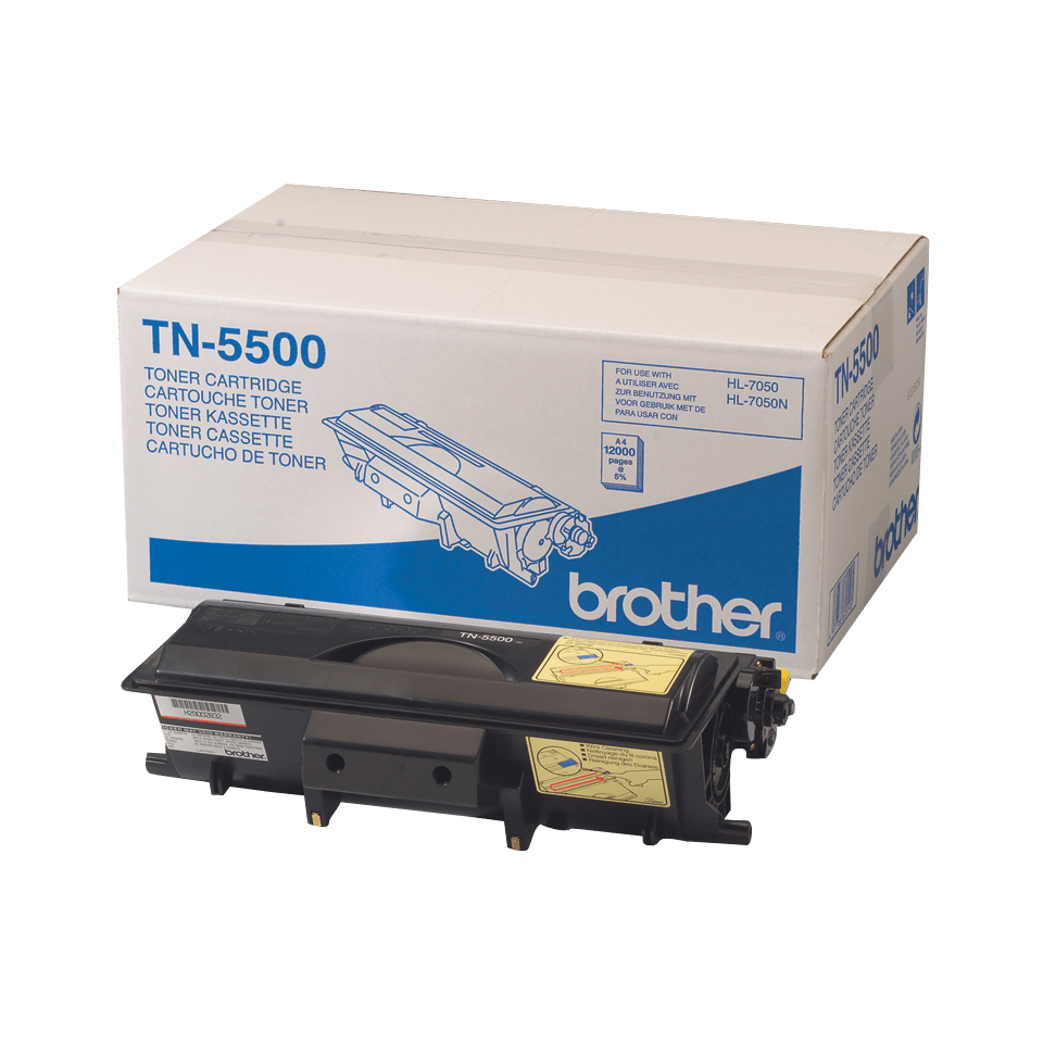 TN-5500 toner noir d'origine Brother