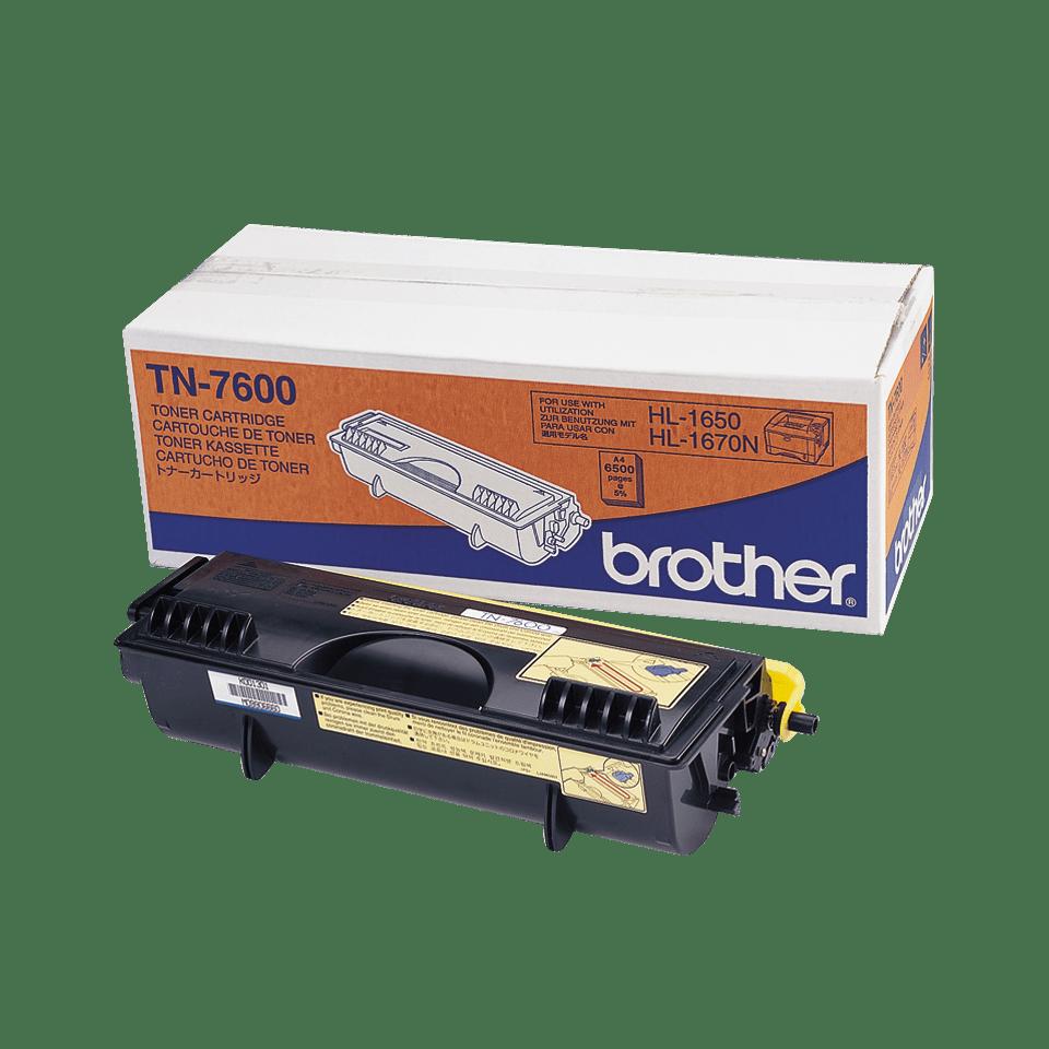 TN-7600 toner noir d'origine Brother à haut rendement