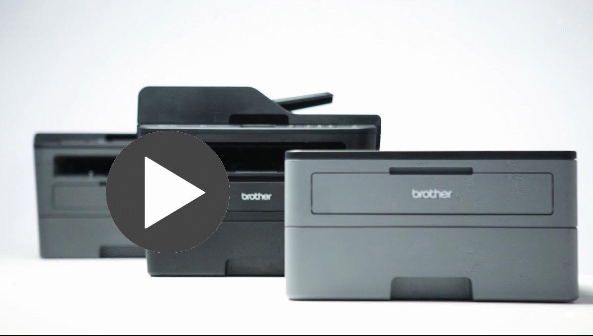 MFC-L2730DW imprimante 4-en-1 laser monochrome compacte et wifi 4
