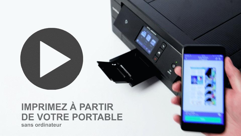MFC-J890DW Imprimante jet d'encre couleur 4-en-1, Wifi, Ethernet, NFC 7