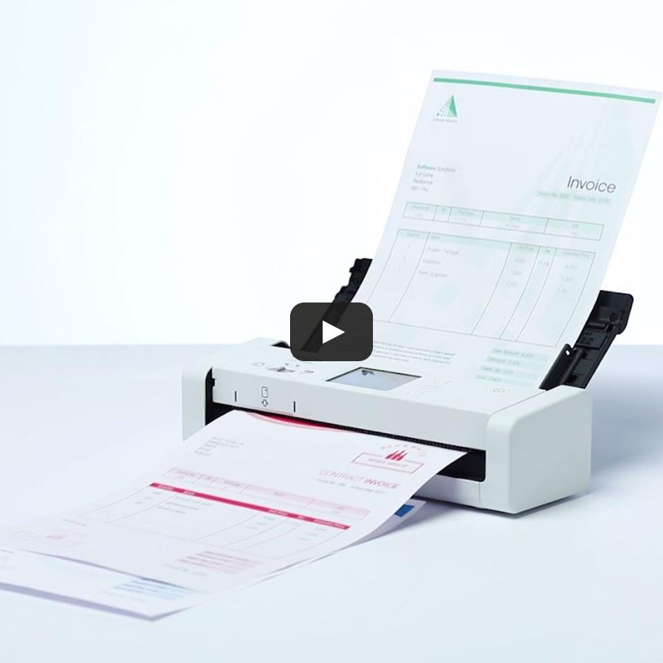ADS-1700W Scanner de documents intelligent et compact 9
