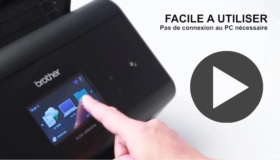 ADS-2400N scanner de bureau 7