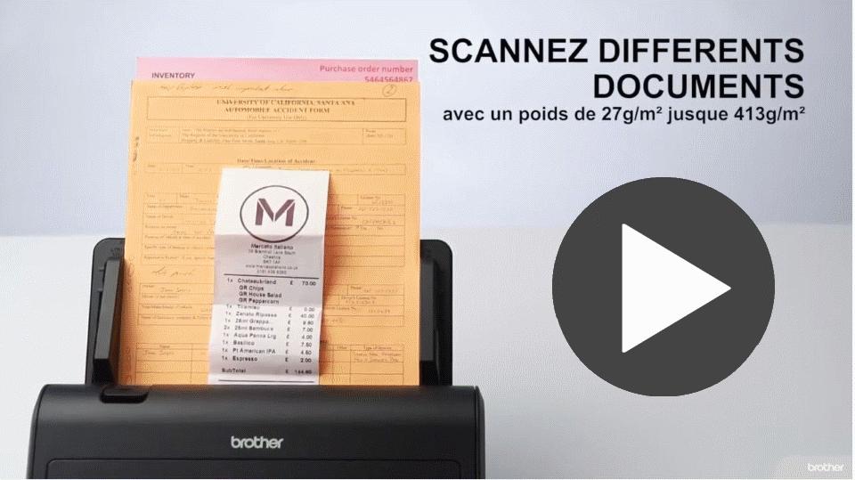 ADS-3000N scanner de bureau 7