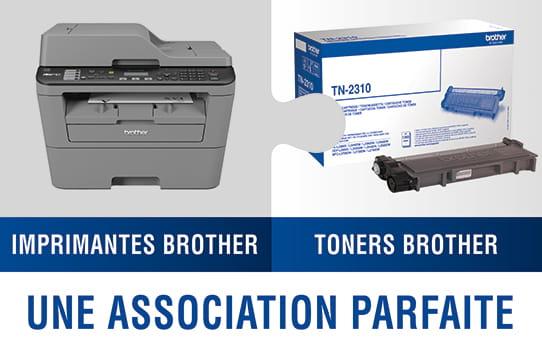 TN-3330 toner noir d'origine Brother à rendement standard 3